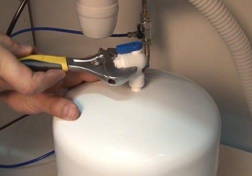 Монтажные работы по установке фильтра воды