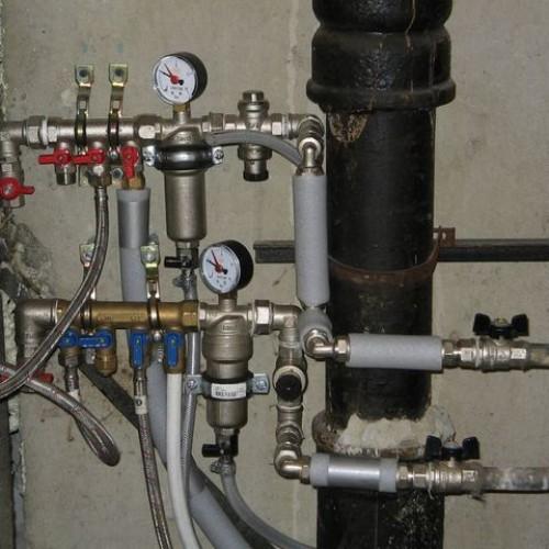 Замена труб системы водоснабжения