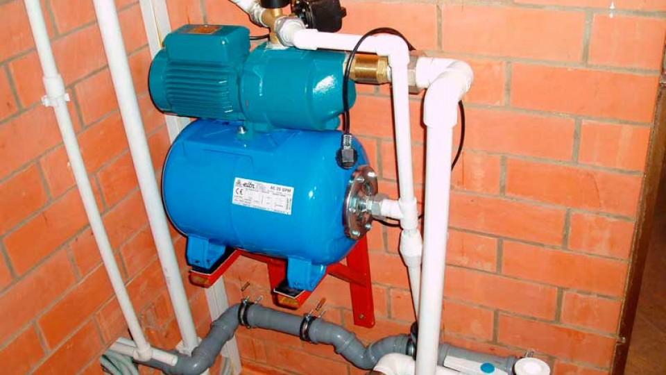 Водопроводная станция для частного дома