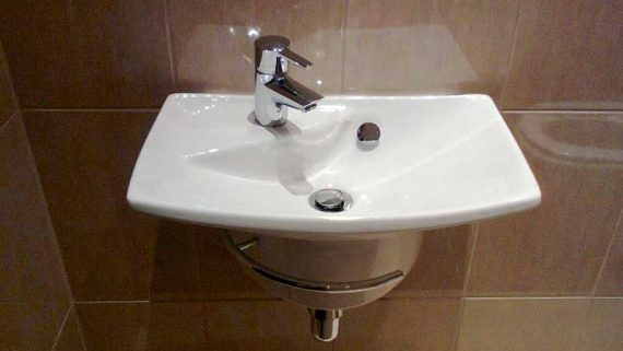 installation of sinks 1