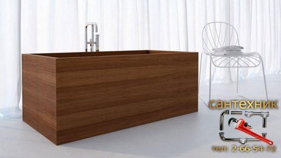 Деревянная ванна в вашем доме
