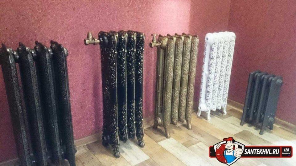 Радиаторы отопления — алюминиевые или чугунные