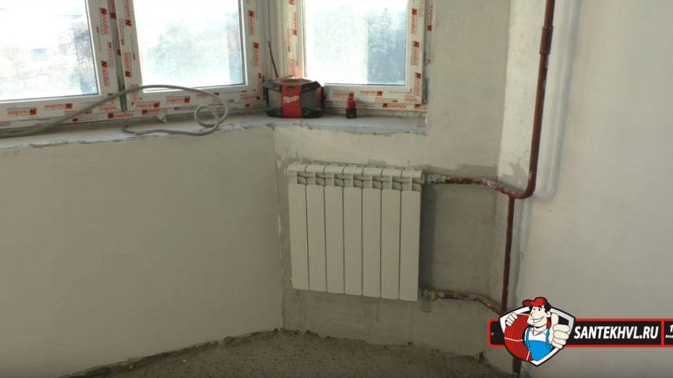 Замена труб отопления в квартире в городе Владивосток