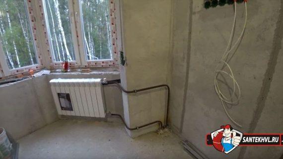 Замена радиаторов и труб отопления в квартирах