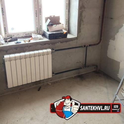 Замена стояков отопления во Владивостоке