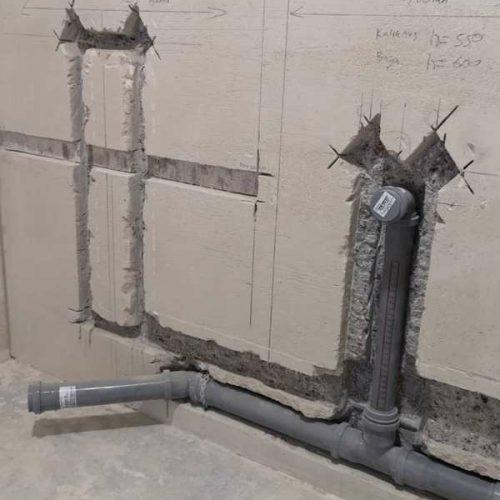 Монтаж канализации и водопровода