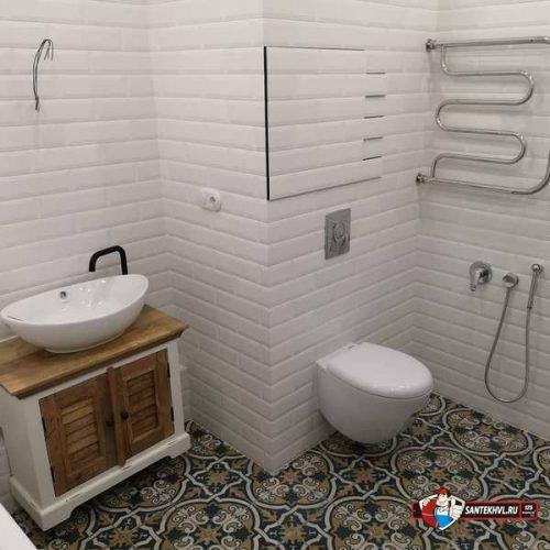 Ремонт ванной комнаты под ключ по ул. Нерчинская