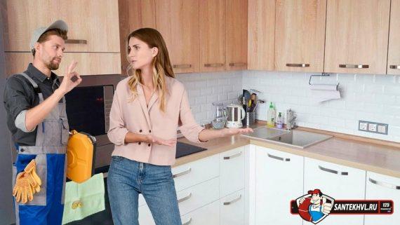 Выбор смесителя для кухни и его отличия от ванного