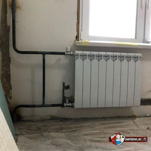 Замена радиаторов отопления в Советском районе