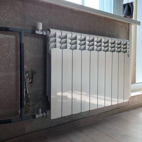 Радиаторы отопления которые мы поменяли
