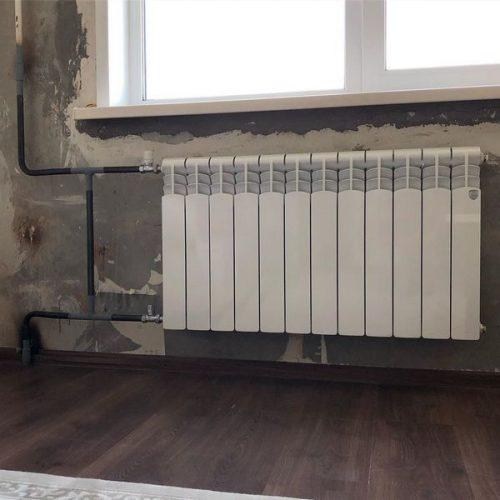 Профессиональная установка радиаторов отопления