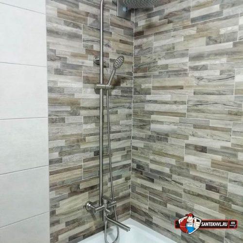 Ремонт ванной комнаты по ул. Давыдова