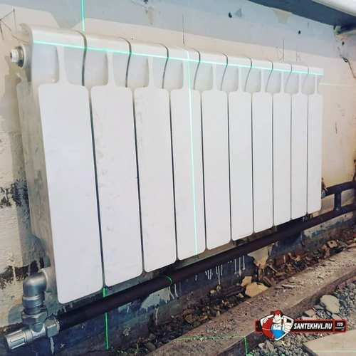 Работа по замене радиаторов и стояков отопления
